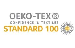 OEKO-TEX certificate logo for POWAIR harness