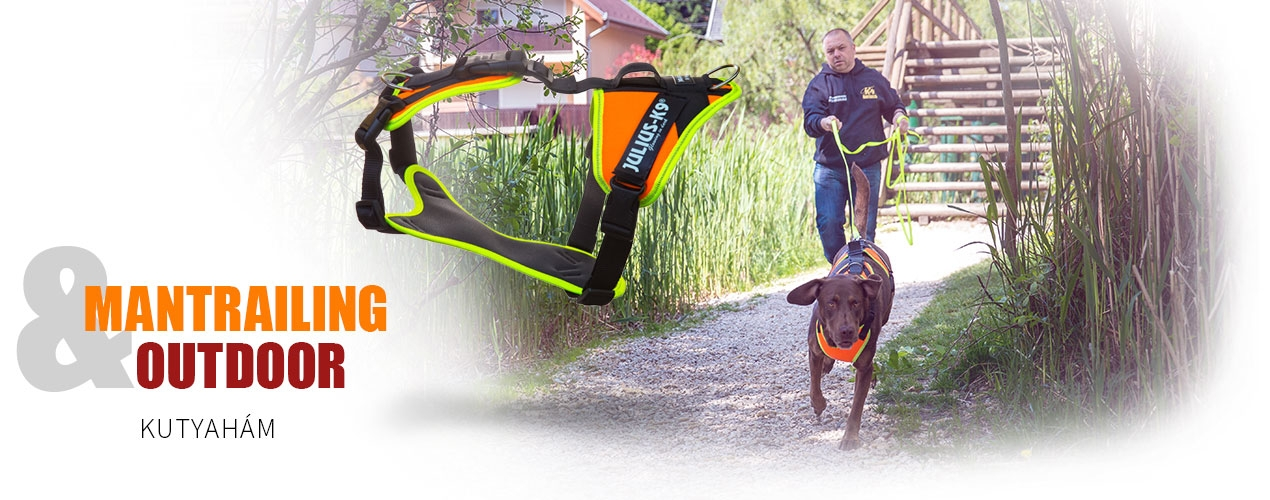 Mantrailing/Outdoor kutyahám